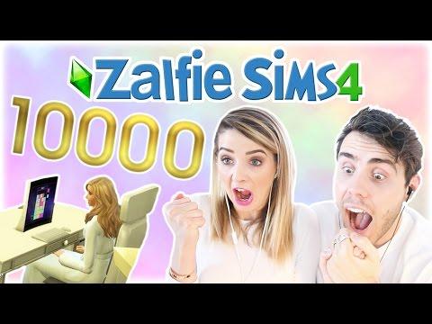 Zoe Hit 10,000 Followers!! | Zalfie Sims Edition [32]