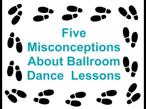 EP 029 Five Misconceptions About Ballroom Dance Lessons