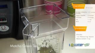 How To Make Matcha Green Tea Slush