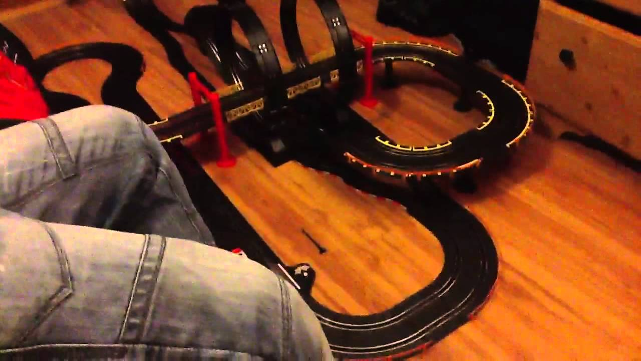 Big Loop Chaser Electric Power Road Racing Set Youtube