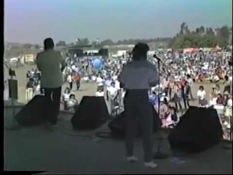 Los Angeles Country Scene 1987 Largest concert ever in L. A.