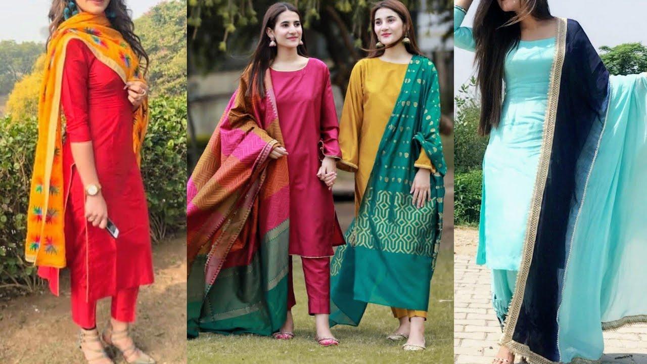 New Plain Silk Suit Design Ideas Brocade Banarsi Silk Suits Designs Ideas Simple Silk Suit Design Youtube Punjabi suit collection.punjabi salwar suit ideas.plain suit design. new plain silk suit design ideas brocade banarsi silk suits designs ideas simple silk suit design