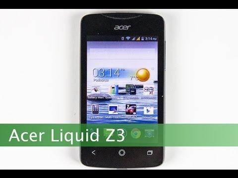 Wideo test i recenzja telefonu Acer Liquid Z3   techManiaK.pl