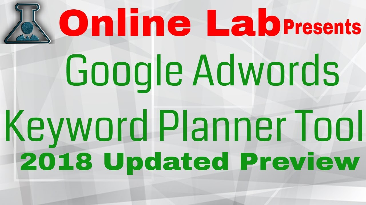 google adwords keyword planner keyword research strategy planner
