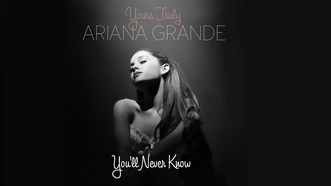 You'll Never Know (Male Version) - Ariana Grande - YouTube