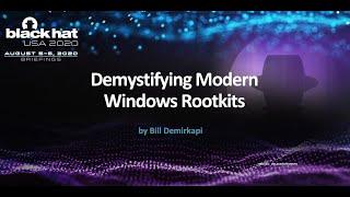 Demystifying Modern Windows Rootkits
