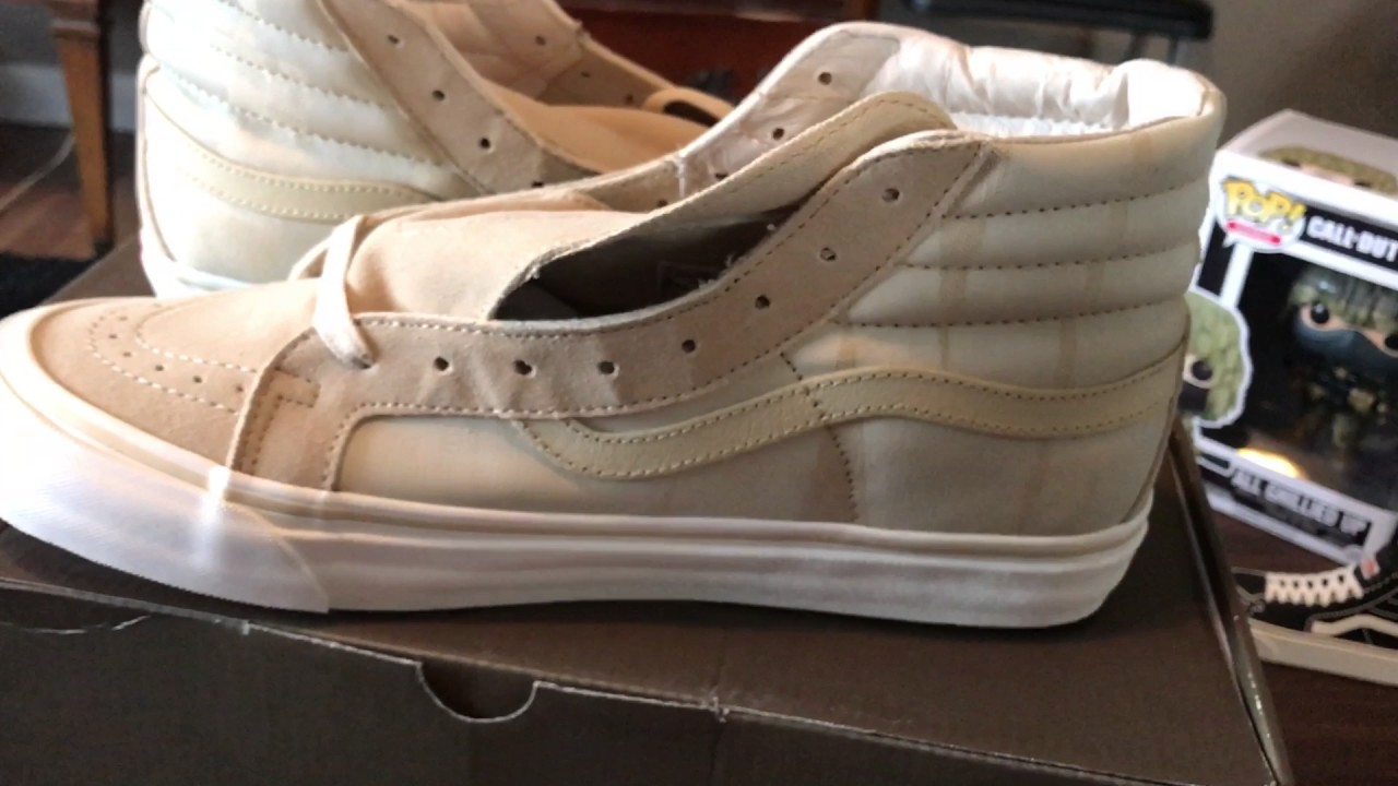 db3710be1b Vans Vault Sk8 hi OG Undftd - YouTube