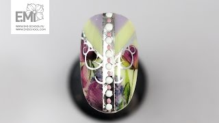 Мастер-класс дизайн ногтей цветы. Новинки 2017 от E.Mi