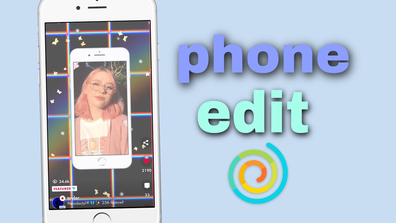 How To Make A Phone Edit On Funimate Youtube