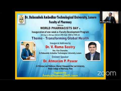 Dr. Babasaheb Ambedkar Technological University, Faculty Of Pharmacy, Lonere