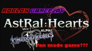 KINGDOM HEARTS FAN GEMACHT SPIEL?! /Astral:Herzen [ALPHA] (Roblox)