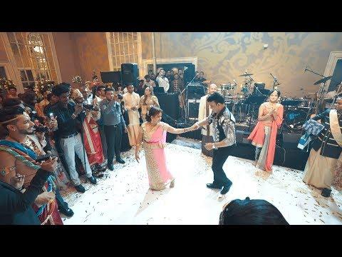 Chandimal's Birthday   Actors' & Models   Ranjan ramanayake   kumari akka   Surprise Dance 2019