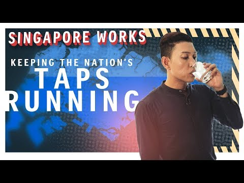 Making sure that the nation's taps do not run dry | Singapore Works | The Straits Times