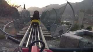 Tobogan Coaster riding @ Taif.