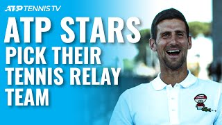 Who Would Make The 4x100m Relay Team? 🥇 ATP Tennis Meets The Olympics screenshot 2