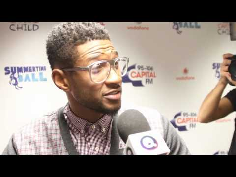 EXCLUSIVE VIDEO: Usher Says One Direction Keep Justin Bieber Trying New Things