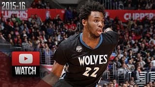 Andrew Wiggins Full Highlights at Clippers (2016.02.03) - 31 Pts, BEAST!