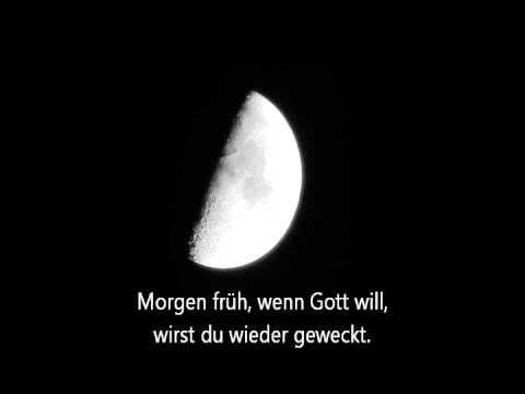 Brahm's Lullaby, Sung in German