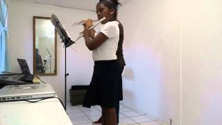 """""""Aura Lee"""" Flute Duet from the Essential Elements Flute Book 1"""