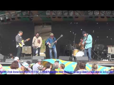 Keith Secola & Friends - Grassroots Festival - Virginia Key, Fl  2- 21- 2015