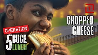 The Best Cheap Chopped Cheese Sandwich in NYC || 5 Buck Lunch