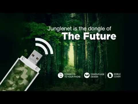 Junglenet - The Dongle of the Future! - YouTube