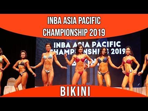 INBA ASIA PACIFIC CHAMPIONSHIP 2019 ||BIKINI || F3TV ||