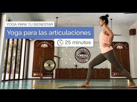 Yoga de pie para las articulaciones (25 minutos)