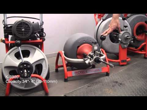 RIDGID - Drain Cleaning Equipment