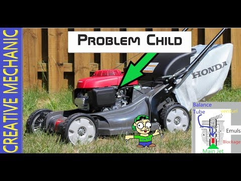 How To Diagnose And Fix A Honda Lawnmower, Wont Start, No Fuel, No-spark