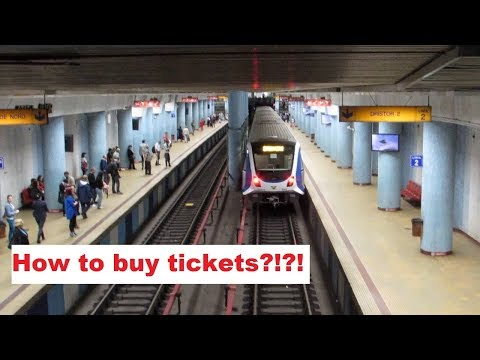 How to buy subway/metro tickets in Bucharest, Romania