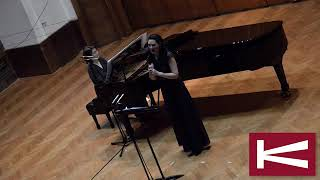 Kolarac Concert Hall, live 2019 Hamilton Harty - Sea Wrack -Sophia Grech / Sanja Stefanovic