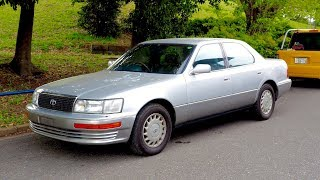 1991 Toyota Celsior UCF11 (USA Import) Japan Auction Purchase Review