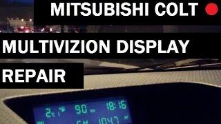 Mitsubishi Сolt fault electronics error U1108 repair on-Board computer