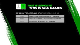 [LIVE] Esports @ SEA Games 2019 – Day 5: Gold Medal Matches for Hearthstone, AOV and DOTA 2