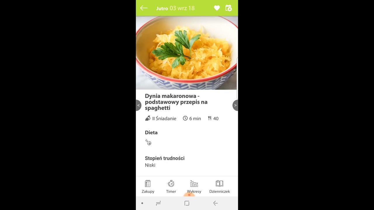 Jadlospisy W Aplikacji Aplikacja Mobilna Ajwendieta