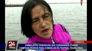 Chimbote: denuncian a ciudadanos chinos por comprar perros para comerlos