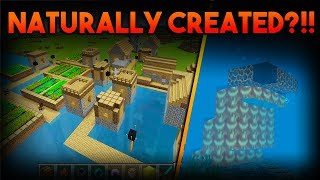 These weird things secretly exist in EVERY Minecraft PE worlds. (Yours too)