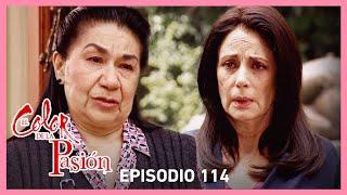 El color de la pasión: Rafaela decide huir de los maltratos de Milagros | C-114 | Tlnovelas