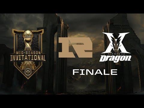 [LoL] MSI FINALE - Kingzone DragonX (Koreja) vs RNG (Kina) w/ Sa1na i Choda