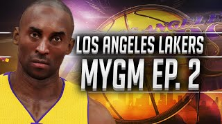 nba2k16 lakers mygm ep 2 couple more trades getting the team set