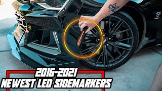 2016-2021 Chevy Camaro LED Sidemarkers - Diode Dynamics - FULL Install Guide!