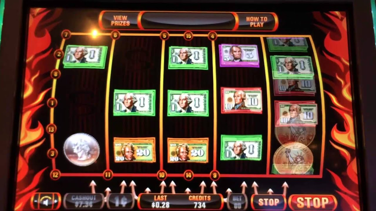 Cash Inferno Slot Machine Online