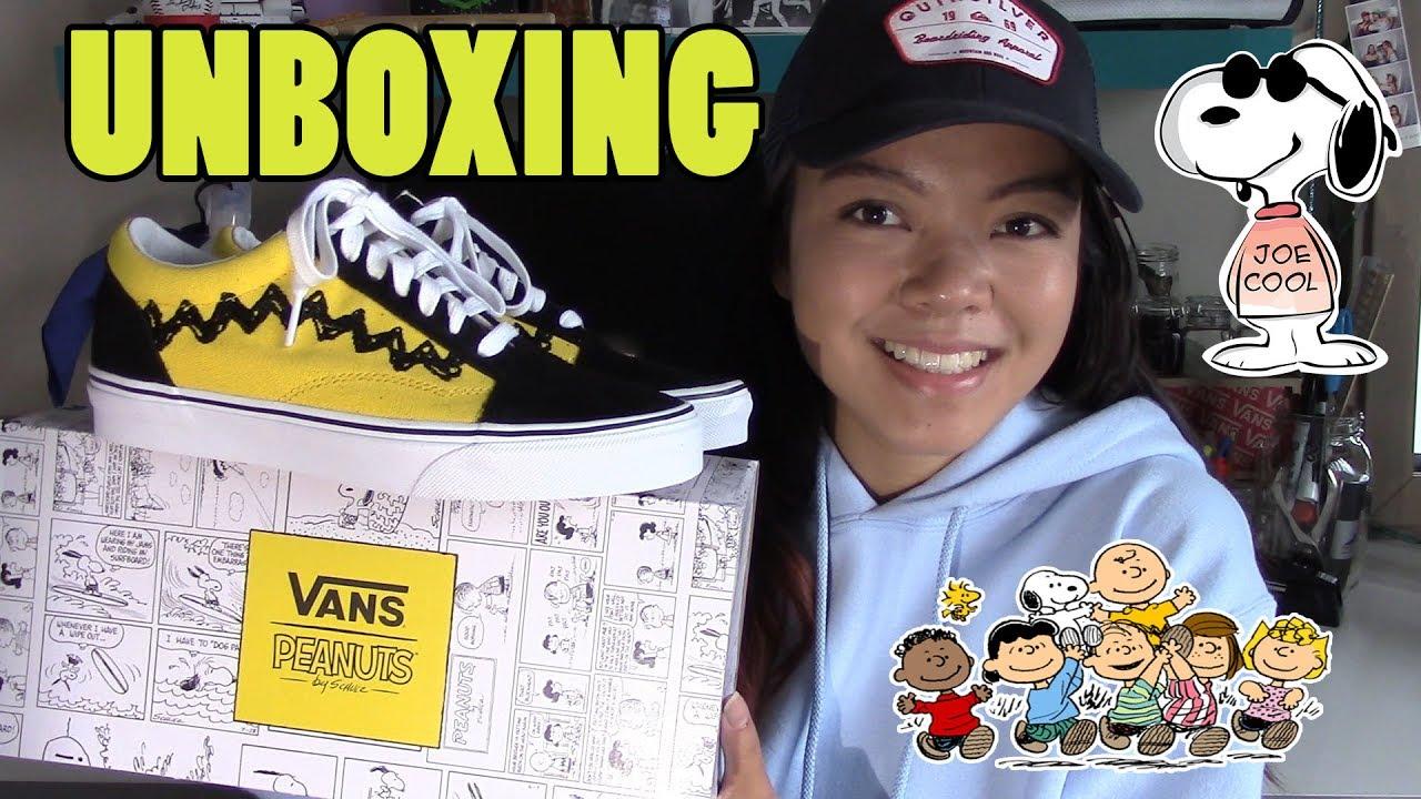 Vans x Peanuts Old Skool Unboxing da0bd59e1