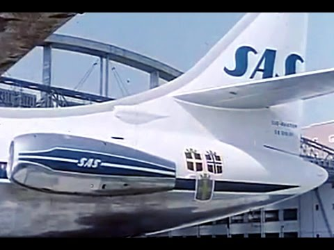 SAS - Scandinavian Airlines Promo Film - 1959