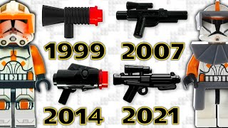 Evolution of LEGO Star Wars Blasters (and Future Ideas)