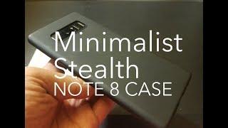 Ultra SLIM THIN Galaxy Note 8 Stealth Matte Case Basstop Spigen Thin Fit Ringke Air