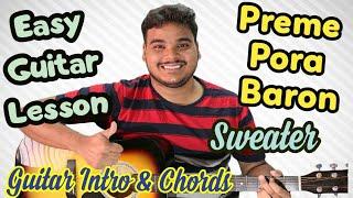 preme-pora-baron-complete-guitar-lesson-intro-chords-strumming-sweater