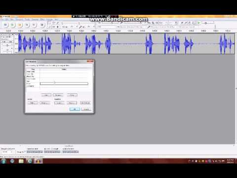 how to put audacity voice recording on windows movie maker
