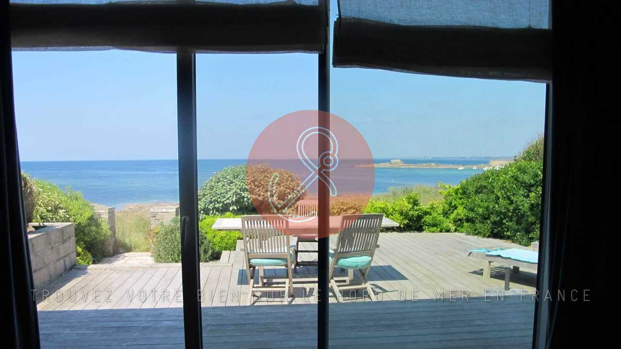 vente maison contemporaine bord de mer ploemeur youtube